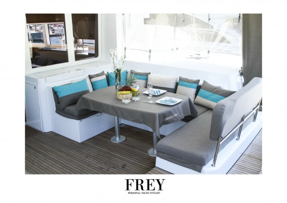 Lagoon 52 - Frey yacht staging