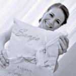 Frey wedding pillow