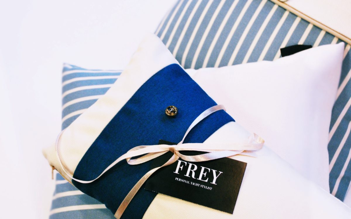 Frey pillows are going on a journey