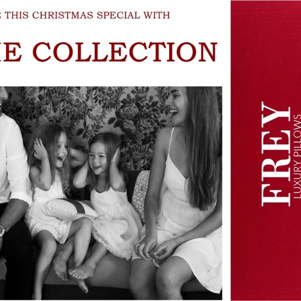 Christmas & Frey luxury pillows for her, him and whole family