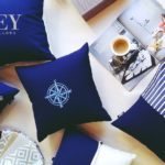Frey luxury pillows - yacht decor for priceless moments