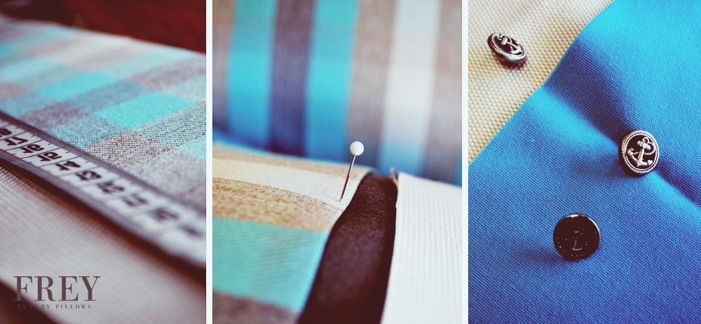 custom pillows, yacht decor