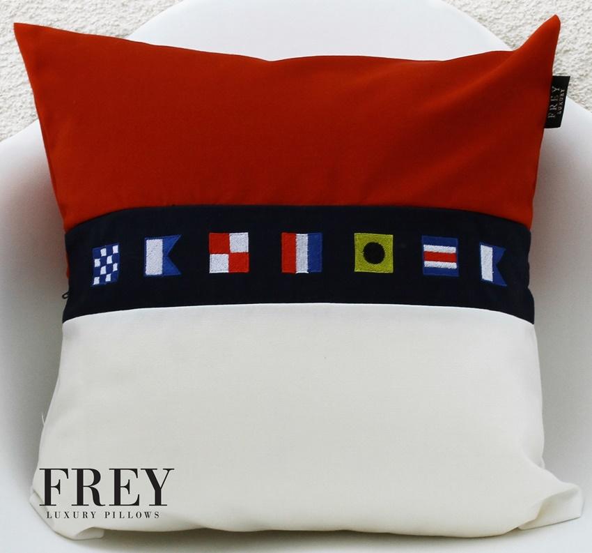 Nautical flags decor