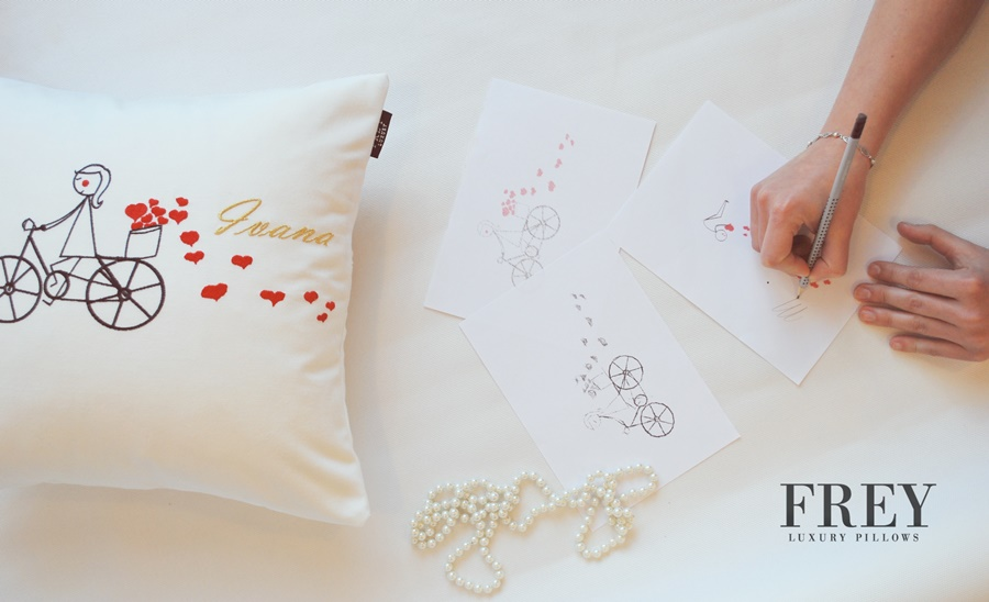 Wedding gift - luxury pillow