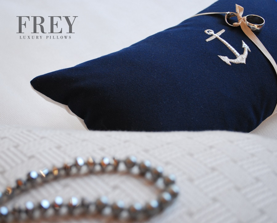 Frey wedding pillow