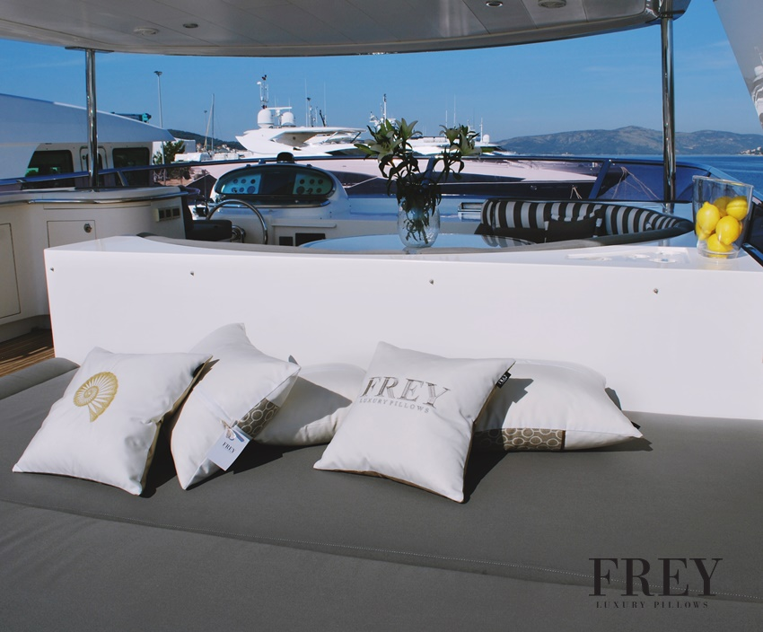 Yacht decor - outdoor pillows