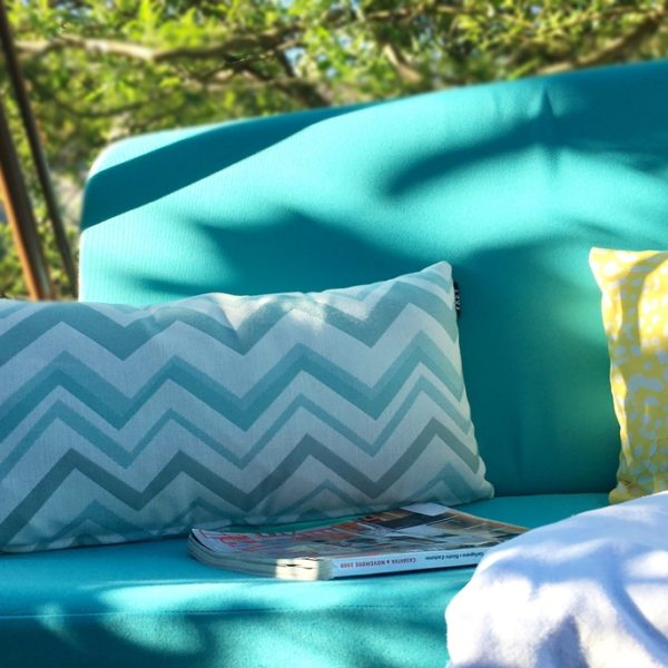 New Frey pillow with sea waves play