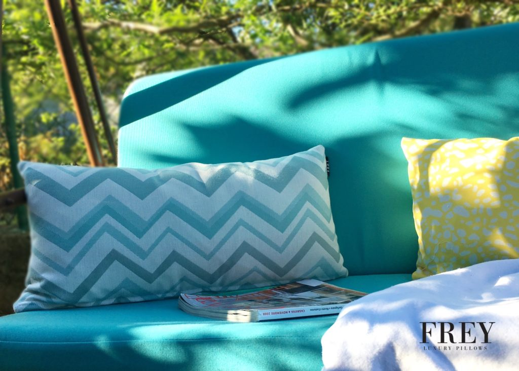 Frey pillow for garden